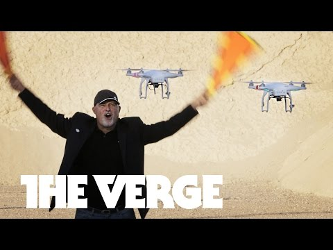Racing in a Las Vegas Drone Rodeo — CES 2015