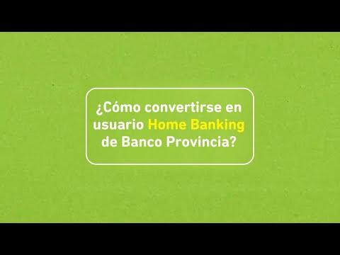 Banco Provincia   Buenos Aires   Tutorial   Alta de usuario en Banca Internet Provincia