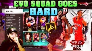 EVO SQUAD GOES HARD! NBA 2K20 MYTEAM UNLIMITED GAMEPLAY LIVE