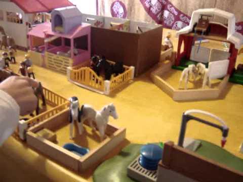 centre questre playmobil du garrel partie 1 youtube. Black Bedroom Furniture Sets. Home Design Ideas