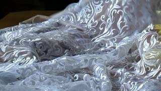 посылка из Свадебного Альянса, ткань для свадебного платья 07.07.2017