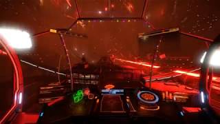 Elite Dangerous - The Oracle Station Attacked By Thargoids