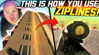THIS IS HOW TO USE THE ZIPLINES IN CALL OF DUTY WARZONE SEASON 5!