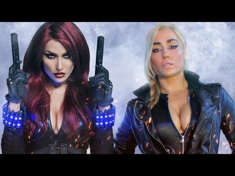 BLACK WIDOW vs BLACK CANARY - Super Power Beat Down (Episode 26)