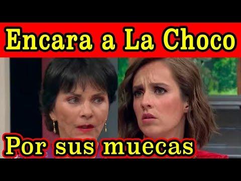 Pati Chapoy ENCARA A La Choco EN VIVO por HACERLE MUECAS en Ventaneando