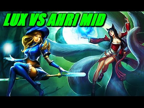 ahri vs lux