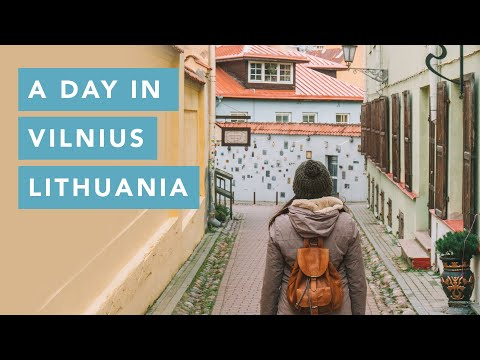 A day in Vilnius, Lithuania | Travel Guide