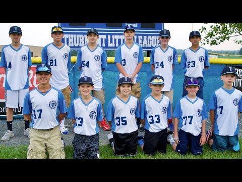 Thurmont Little League All Stars 2017 in 4k UHD