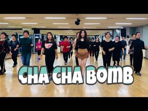 Cha Cha Bomb Line Dance(Beginner Social Cha) Winifred W