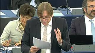 Guy Verhofstadt on Conclusions of the European Council meeting (18-19/10/2012)