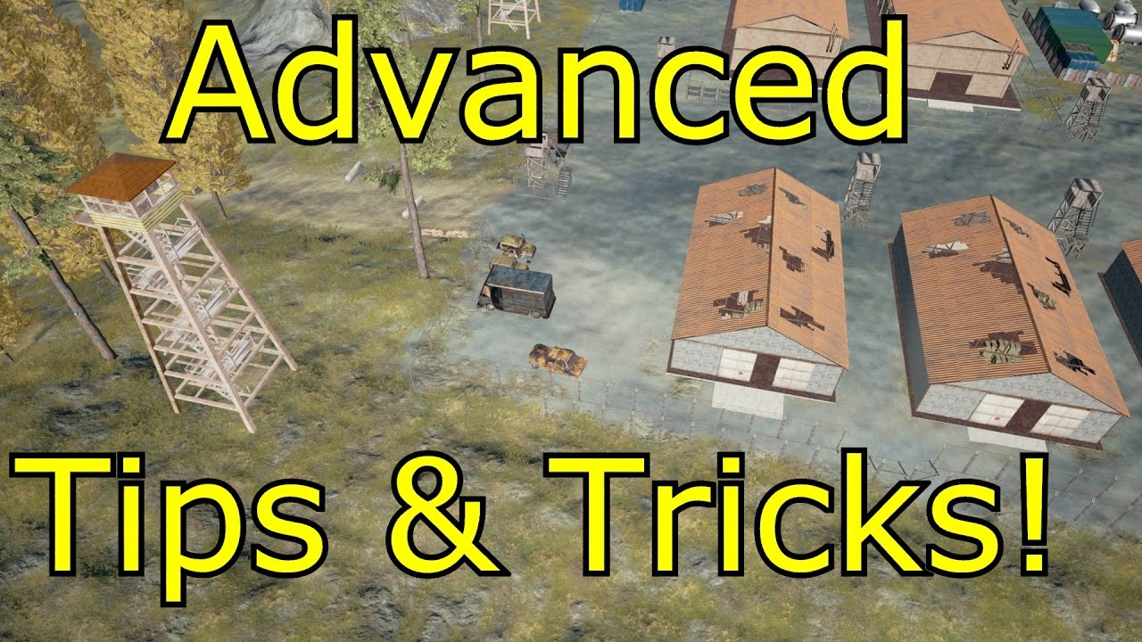 PUBG tips - 74 tricks for both beginners and those still