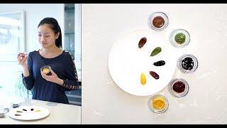 DIY Natural Food Colouring  自制天然食用色素
