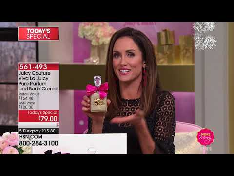 HSN | Juicy Couture Fragrance Gifts / intelliWHiTE Beauty 11.09.2017 - 12 PM
