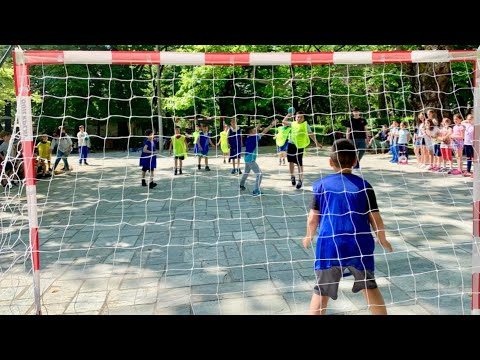 Greece, Street Handball Tournament in Naousa with Zafeirakis club