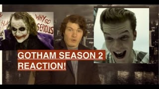 GOTHAM Season 2 - The Maniax Red Band Trailer Reaction!