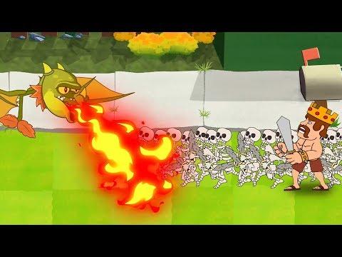 Plants Vs Zombies GW Animation - Episode 14 - Snapdragon Vs Transparent (Clash Of Clans)