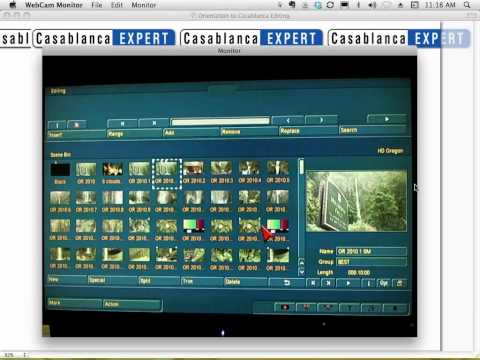 Introduction to Casablanca Digital Video Editing