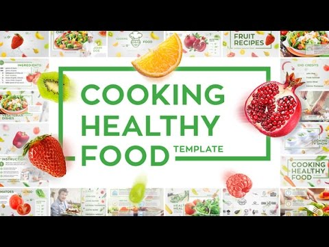 Infographic Ideas living healthy infographics videohive free download after effects templates : Cooking Healthy Food   After Effects template - YouTube