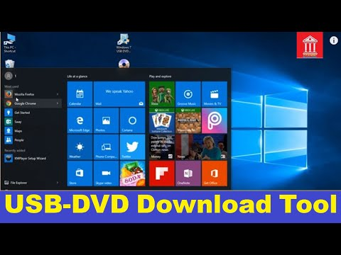 Creating Bootable Usb Device Using Ultra ISO And Windows 7 USB/DVD Download Tool In Windows 10