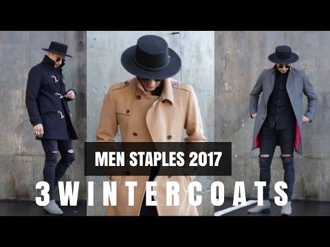 MEN'S 3 BEST COATS for Winter