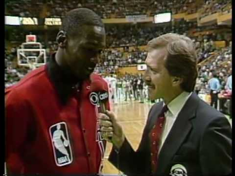 Bulls @ Celtics - 1986 Playoffs Game 2 (2OT) - MJ 63 Points Vs. Bird