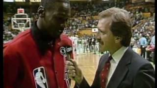 Bulls @ Celtics - 1986 Playoffs Game 2 (2OT) - MJ 63 Points Vs. Bird