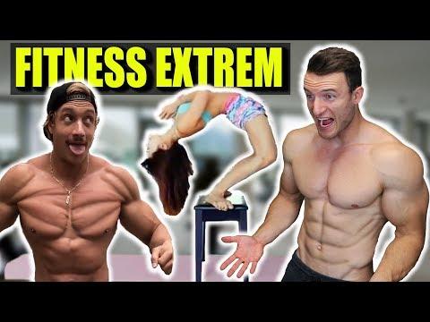 sascha-huber-reagiert-auf-die-heftigsten-fitness-videos!- -reaktion