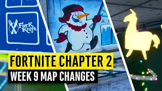 Fortnite | All Chapter 2 Map Updates and Hidden Secrets! WEEK 9