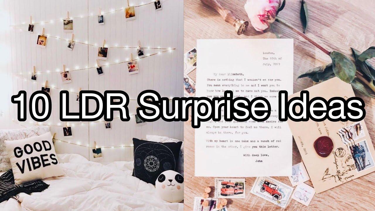 Ways to surprise your long distance boyfriend