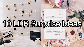 10 Ways To Surprise Your Boyfriend In 2020 ❤️ Long Distance Relationship