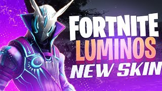 Luminos: New Skin on Fortnite!