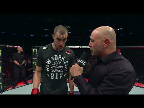 UFC 217: James Vick Octagon Interview