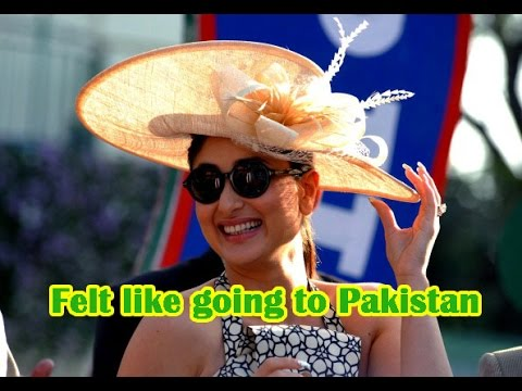'I felt like going to Pakistan many times, says Kareena Kapoor Khan - TOI