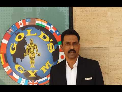 Rajesh Shetty   Assistant Fitness Centre Manager   Gold's Gym Lower Parel West