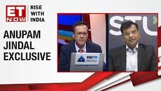Highest ever Quarterly EBITDA     Anupam Jindal of Sterlite  to ET NOW