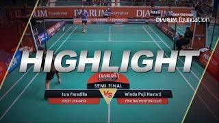 Isra Faradilla (Exist Jakarta) VS Winda Puji Hastuti (Fifa Badminton Club)