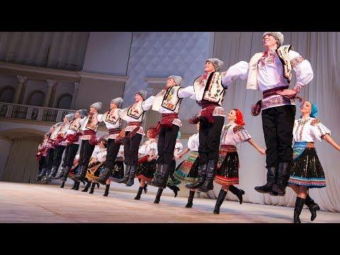 Сюита Молдавских танцев:  «Хора», «Чиокырлия», «Жок». Балет Игоря Моисеева.