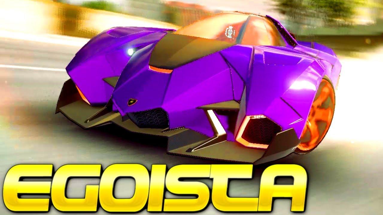 Purple Jet Car Power Lamborghini Egoista Rank 3429 Multiplayer In