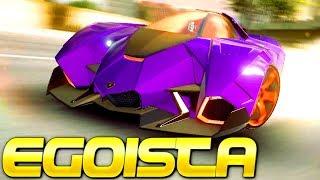 PURPLE JET CAR POWER! Lamborghini Egoista (Rank 3429) Multiplayer in Asphalt 9