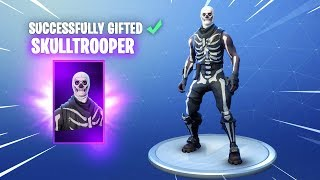 GIFTING SKINS ALMOST HERE! - New Gifting System in Fortnite.. thumbnail