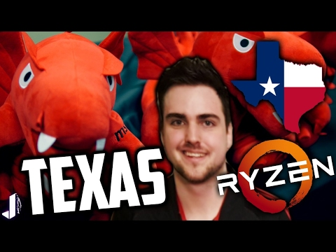 Trip to Texas with MSI DragonSquad and AMD BestSecretofRyzen