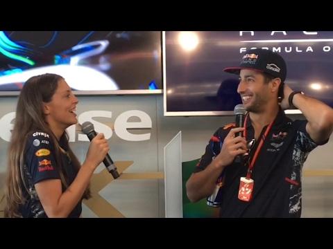 Australian F1 Grand Prix 2017 paddock club, Red Bull box,  garage & lounge tour, ricciardo Q&A