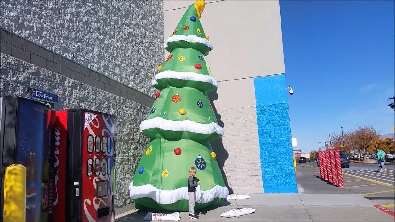 Inflatable Christmas Tree.Gigantic Inflatable Christmas Tree At Walmart