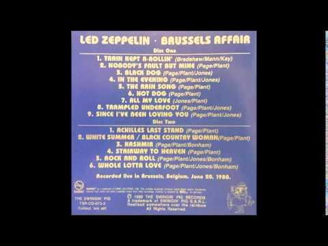 Led Zeppelin Brussels Affair 03 Black Dog