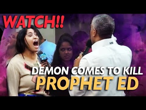 Demon comes to kill Pastor Ed Citronnelli