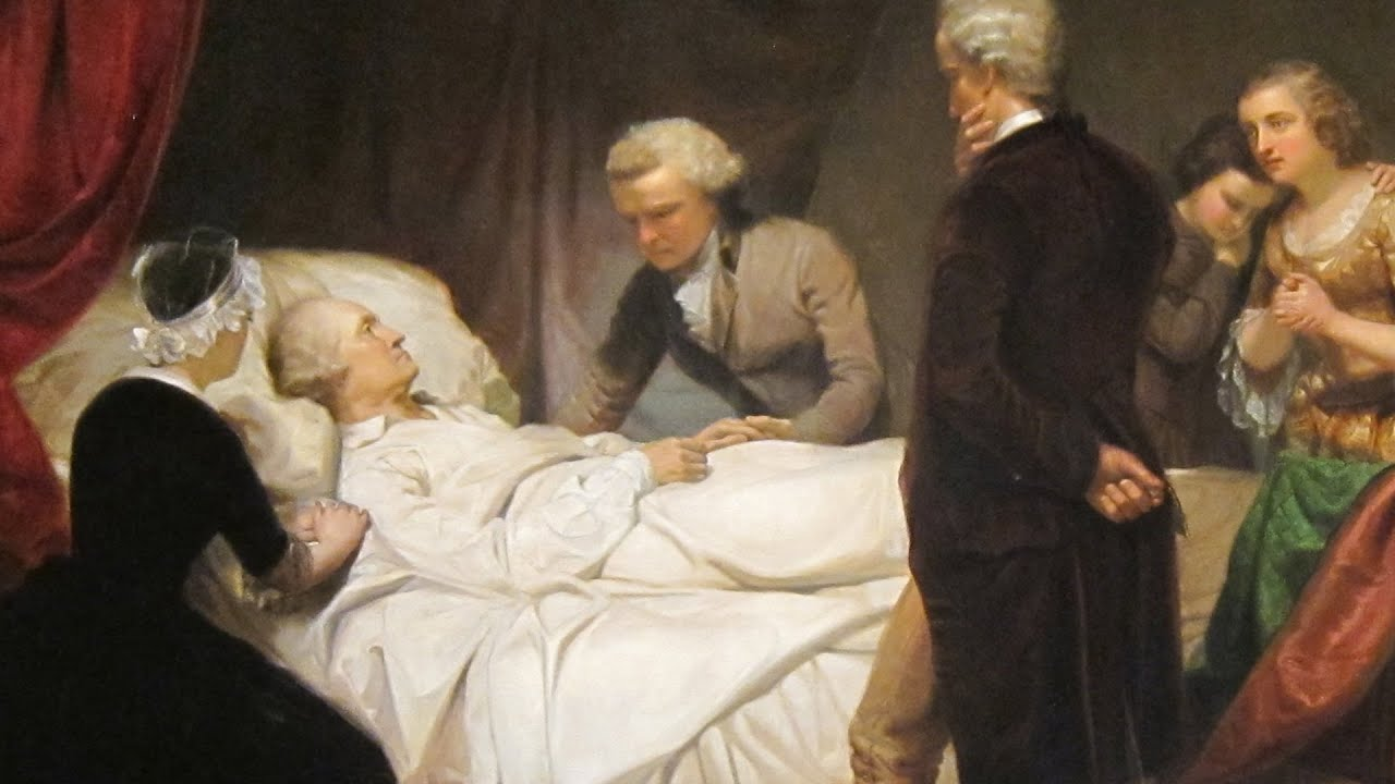 Bloodletting Blisters And The Mystery Of Washington S