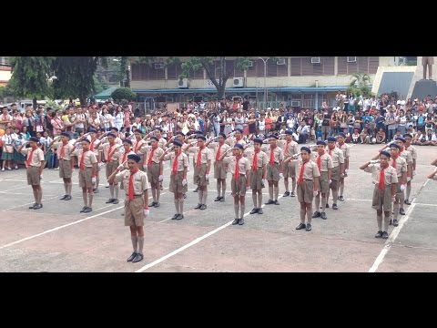 Champion Mabini NHS Senior Scout Fancy Drill 2015 Davao Council