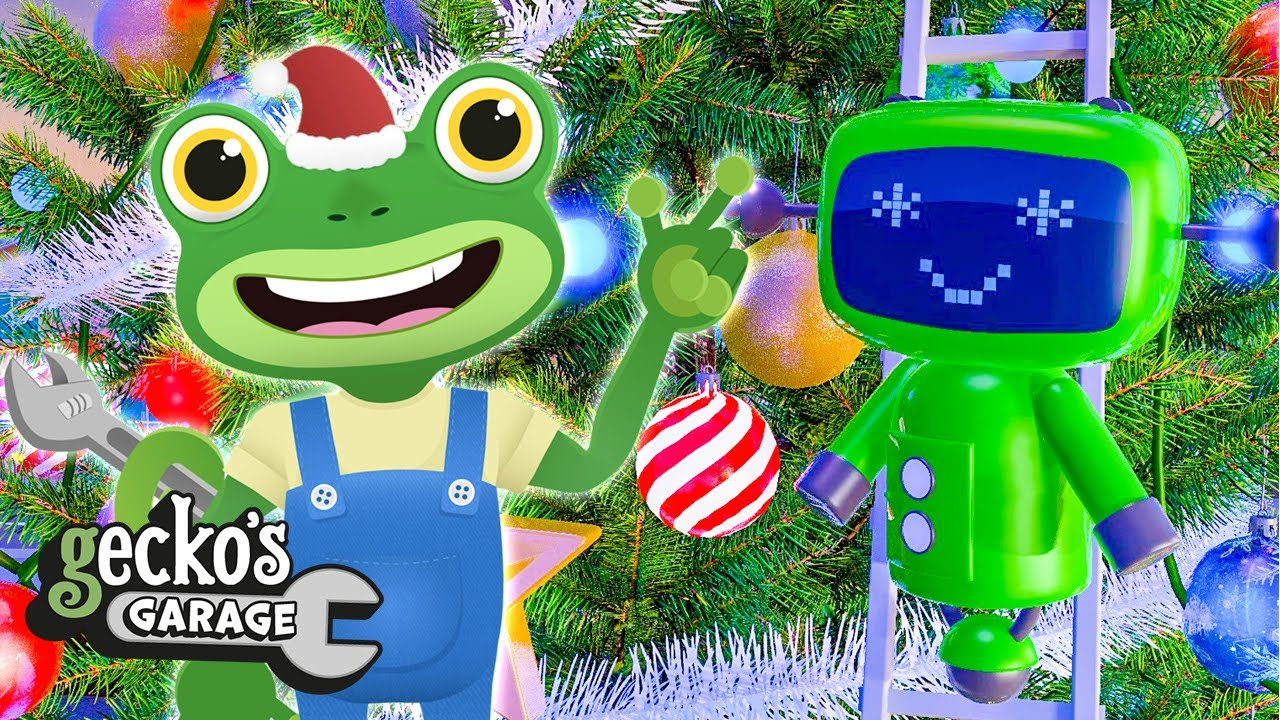 Deck The Halls|Gecko's Garage|Christmas Songs and Nursery Rhymes For Kids|Fun Videos For Toddlers