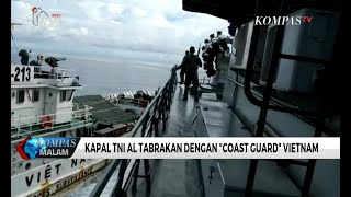 "Download Video Kapal TNI AL Tabrakan dengan ""Coast Guard"" Vietnam MP3 3GP MP4"