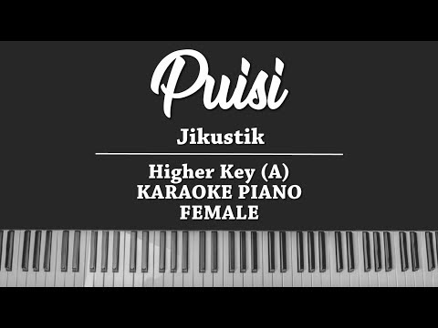 Puisi - Jikustik (FEMALE KARAOKE PIANO COVER)